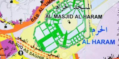 Mecca / Makkah map - Maps Mecca / Makkah (Saudi Arabia)