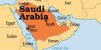 Mecca On A World Map.Mecca World Map Makkah In World Map Saudi Arabia
